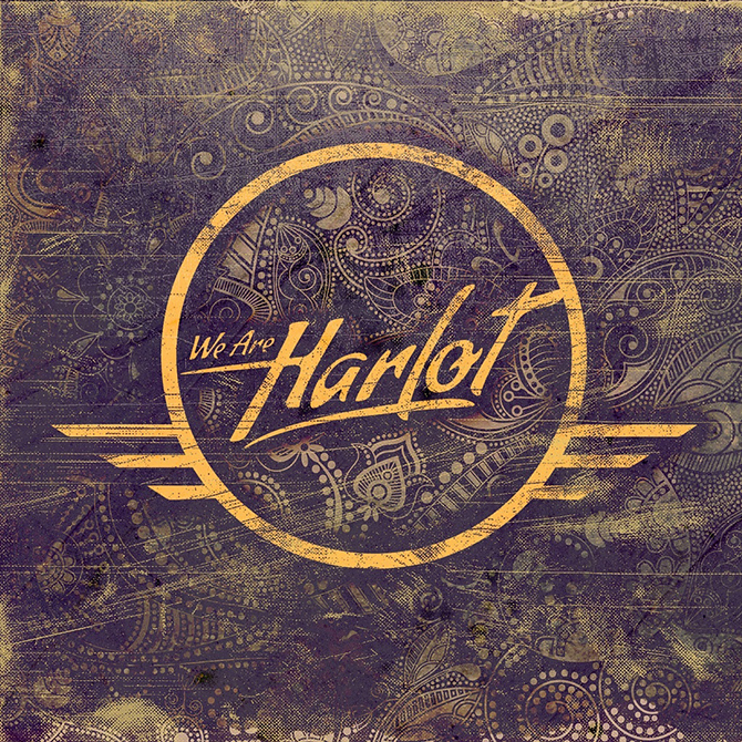 We Are Harlot self titled cover - We Are Harlot - We Are Harlot (Album Review)