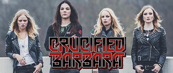 crucifed slide - Interview - Mia Coldheart & Ida Evileye of Crucified Barbara