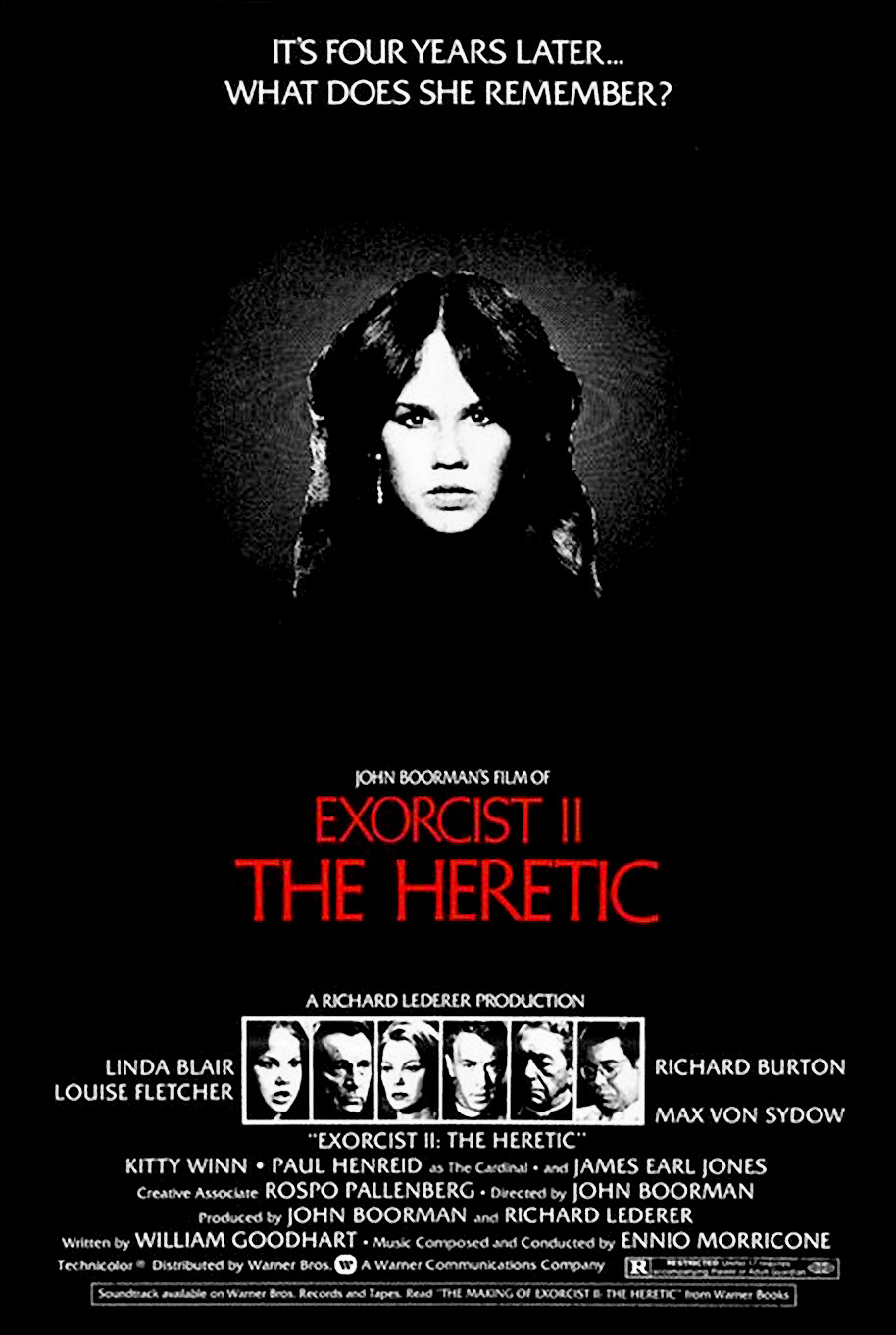 exorcist 2 the heretic 1977 - This Week in Horror Movie History - Exorcist II: The Heretic (1977)