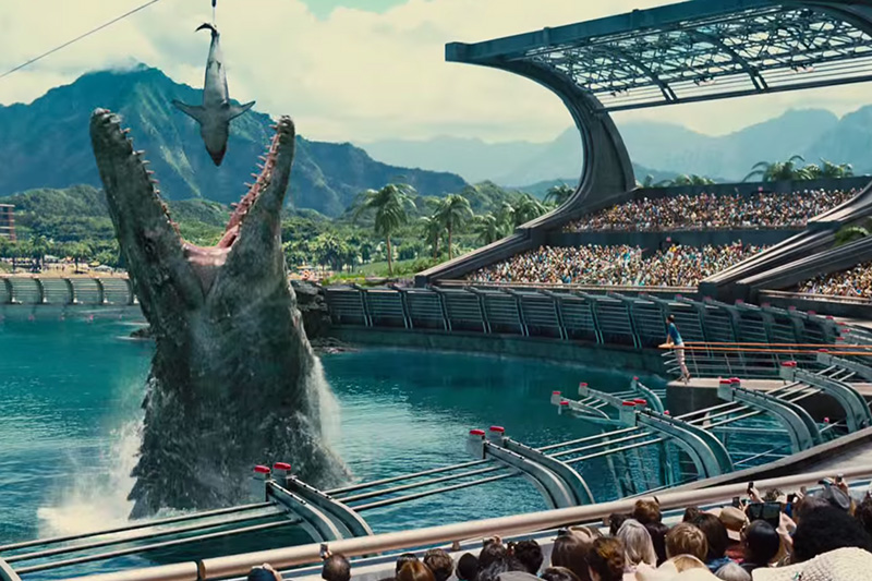jurassic world tv spot 2 0 - Jurassic World (Movie Review)