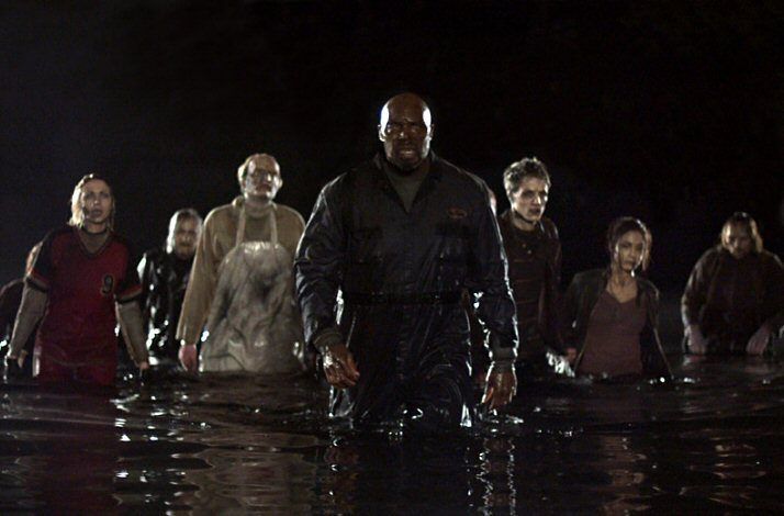 land of the dead from the wate - George A Romero's Land of the Dead 10 Years Later
