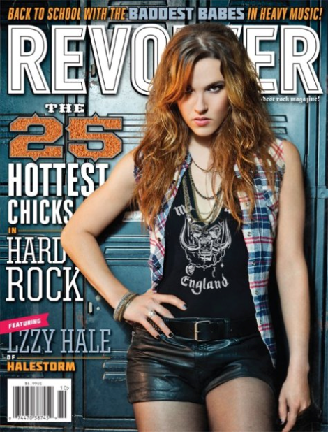 lzzy revolver - Halestorm's Lzzy Hale - Sexy That is More Than Skin Deep