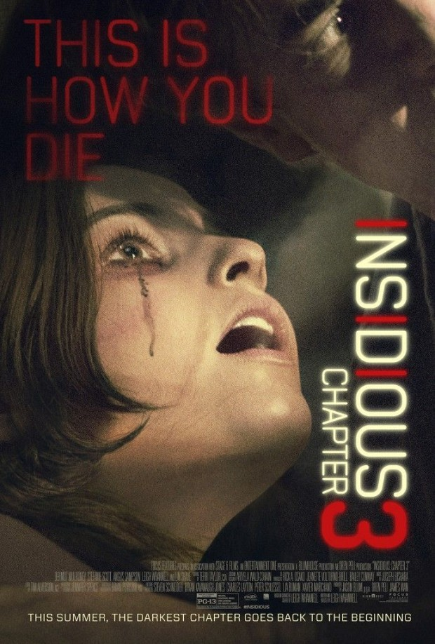Insidious Chapter 3 Wondercon poster 691x1024 - Insidious: Chapter 3 (Movie Review)