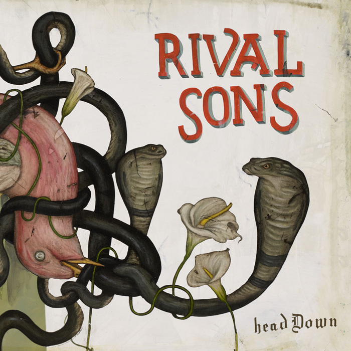 Rivalsons headdown - Interview - Dave Beste of Rival Sons