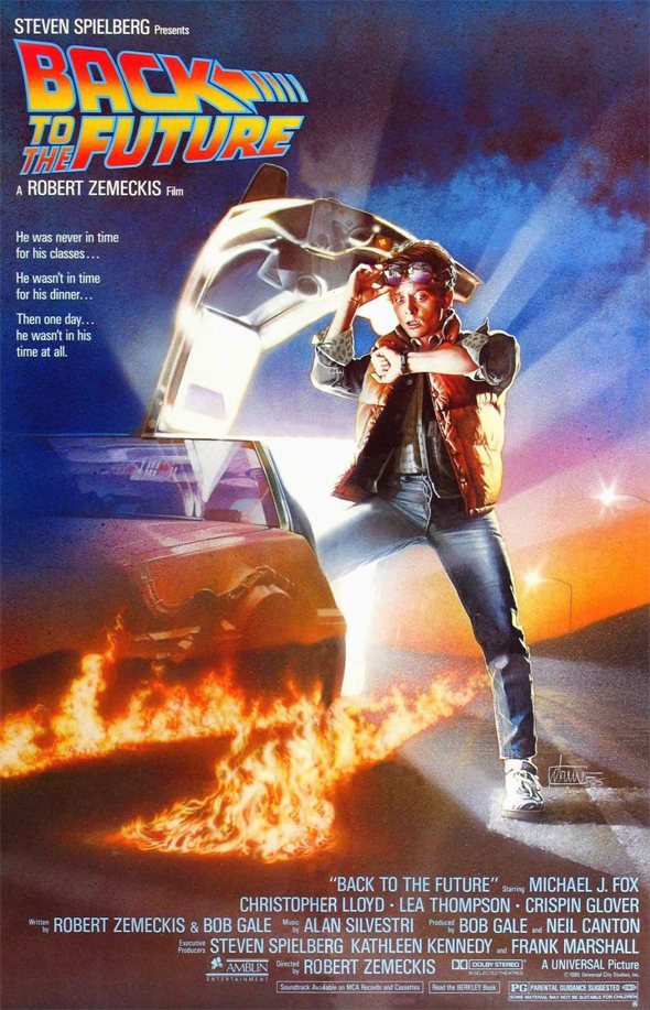 back to the future poster - Back to the Future - 30 Years Later, The Future is Now