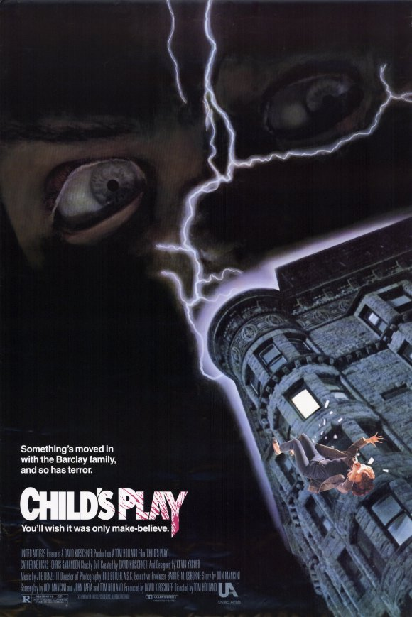 childs play movie poster 1988 1020203155 - Favorite Horror Movies Revealed: Blake Allison of Devour the Day