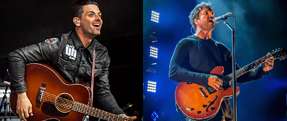 dashboard third eye slide - Third Eye Blind & Dashboard Confessional bring excitement to Jones Beach, NY 6-14-15