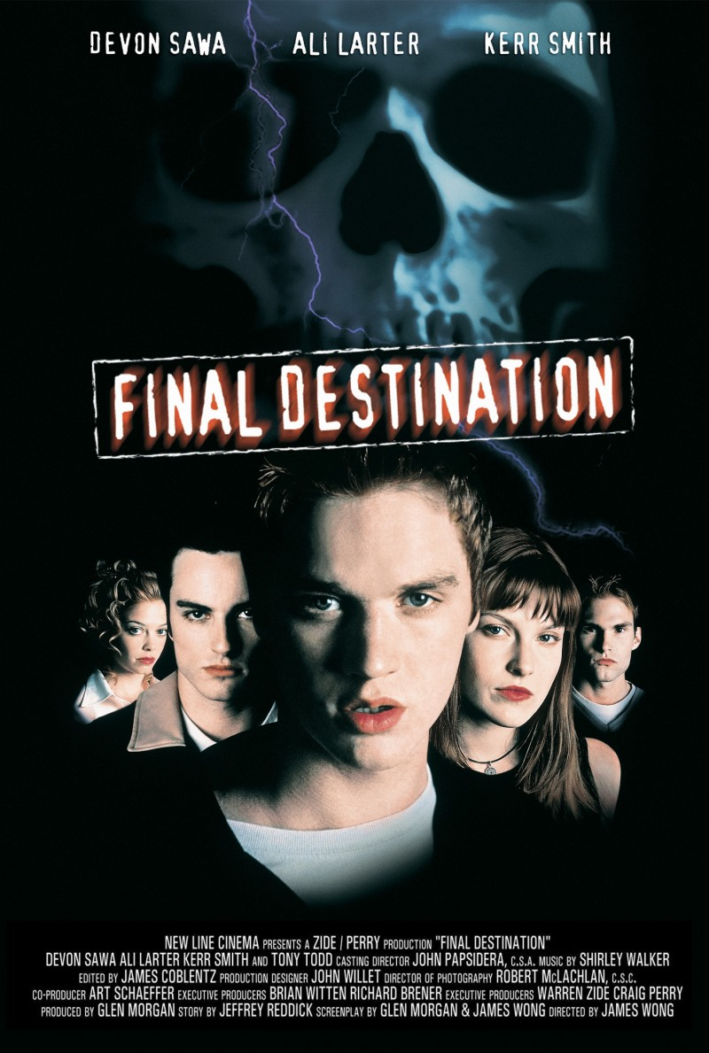 final destination first movie poster - Final Destination Cheats Death for 15 Years