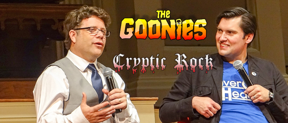 goonies slide - The Goonies Celebrates 30 years w/ Sean Astin Q&A Worcester, MA 6-27-15