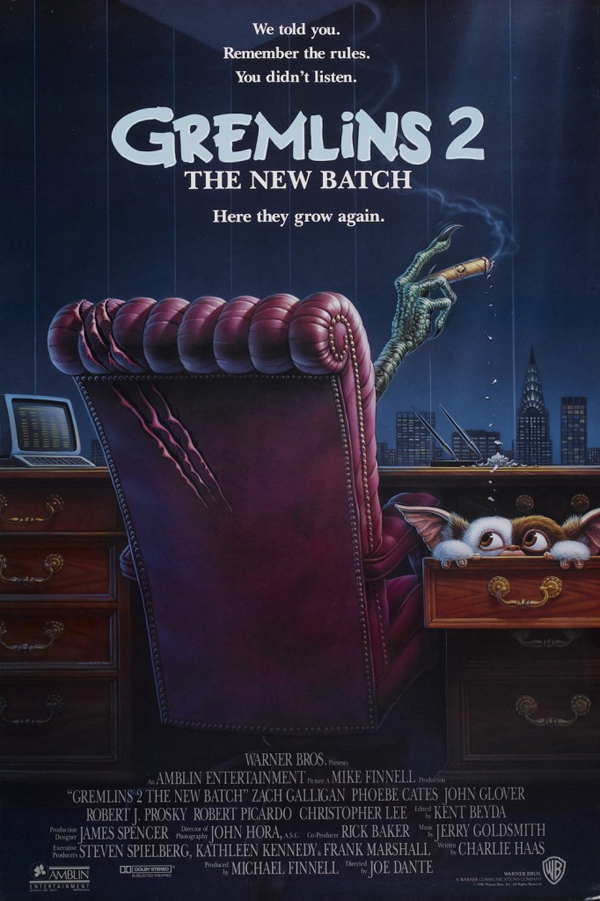 gremlins 2 the new batch original movie poster 682x1024 - Interview - Joe Dante