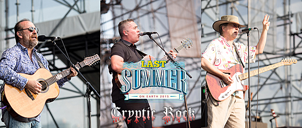 last summer tour slide - Barenaked Ladies Unstoppable in NYC 7-1-15 w/ Colin Hay & Violent Femmes