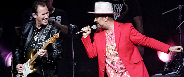 culture club slide - Culture Club Enchant The Grand Theater at Foxwoods Ledyard, CT 7-31-15