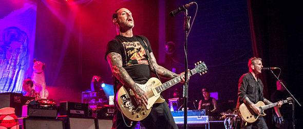 social distortion slide - Social Distortion Tear Up Marquee Theatre Tempe, AZ 7-28-15 w/ Nikki Lane & Drag the River