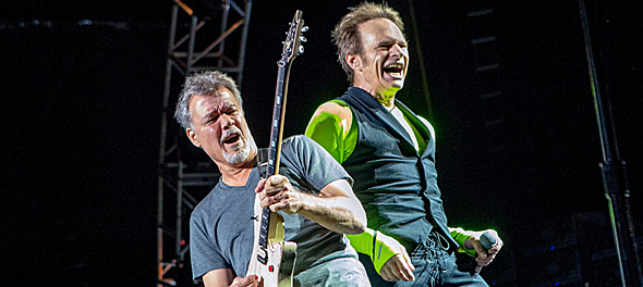 van halen slide - Van Halen Erupt at Jones Beach, NY 8-13-15 w/ Kenny Wayne Shepherd