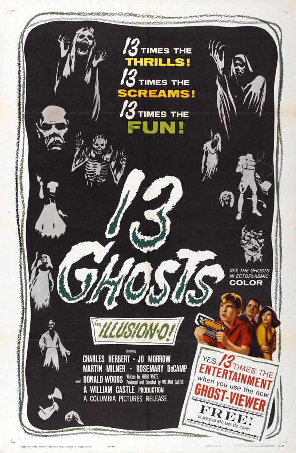 13 Ghosts - Haunted by 13 Ghosts 55 Years Later