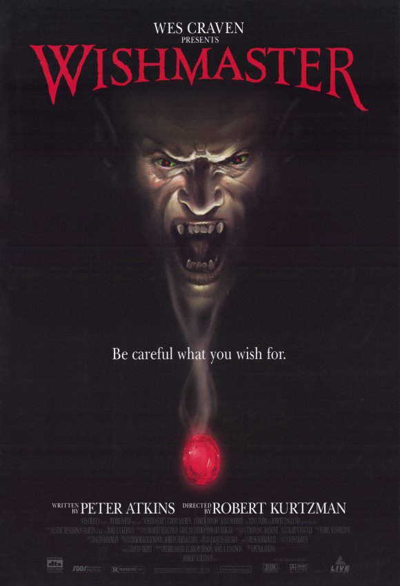 1997 the wishmaster poster1 - This Week in Horror Movie History - Wishmaster (1997)