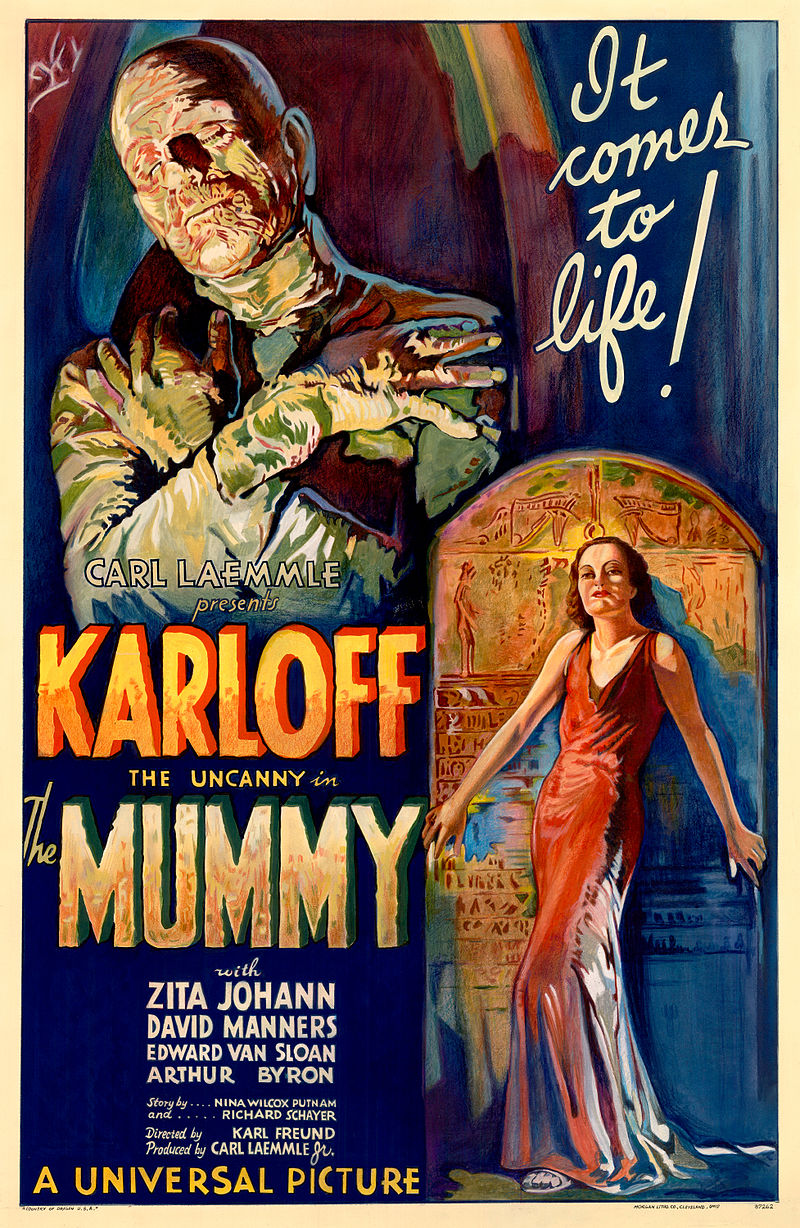 800px The Mummy 1932 film poster - Interview - James Karen