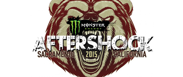 aftershock slide - Monster Energy Aftershock Festival scheduled for Oct 24-25th Sacramento, CA