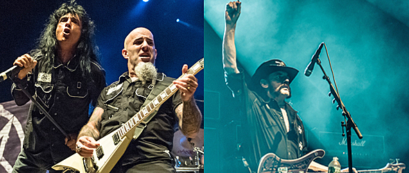 anthrax motorhead slide - Motorhead & Anthrax Take Over Jones Beach, NY 9-16-15 w/ Crobot