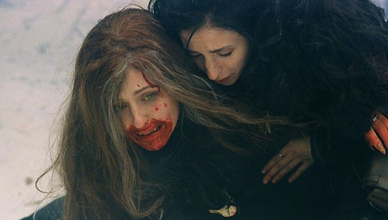 ginger snaps bloody mouth - Ginger Snaps Still Has Bite 15 Years Later