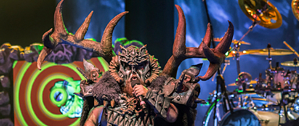 gwar slide - GWAR Enslave The Paramount Huntington, NY 9-17-15 w/ Battlecross & Butcher Babies