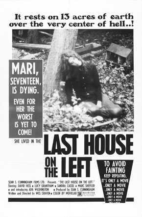 last house on the left poster 01 - Wes Craven - Dreaming Up Nightmares That Will Last Forever