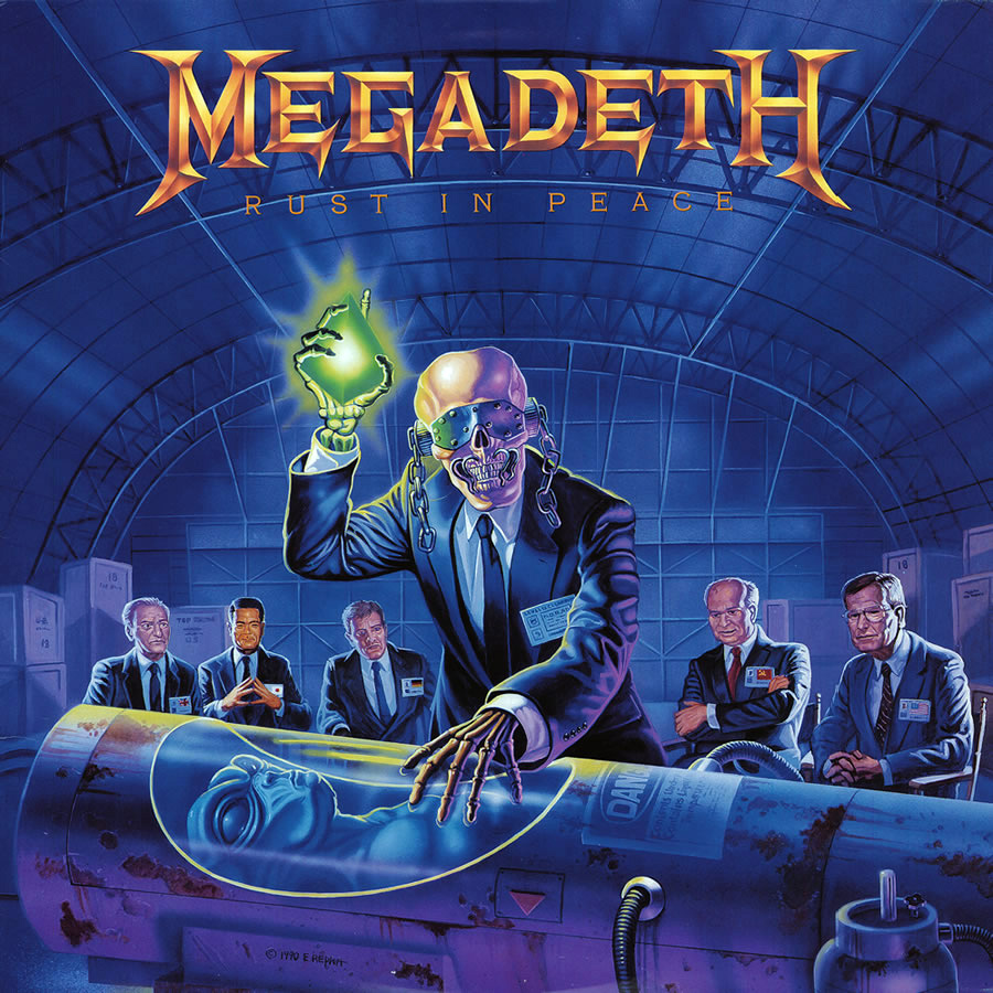 megadeth rust - Megadeth's Rust in Peace A Metal Milestone 25 Years Later