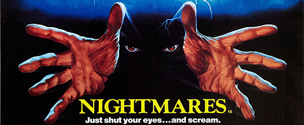 nightmares big slide - This Week in Horror Movie History - Nightmares (1983)