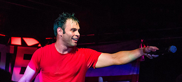 patent pending slide - Patent Pending Return Home in Style Revolution Music Hall Amityville, NY 8-28-15