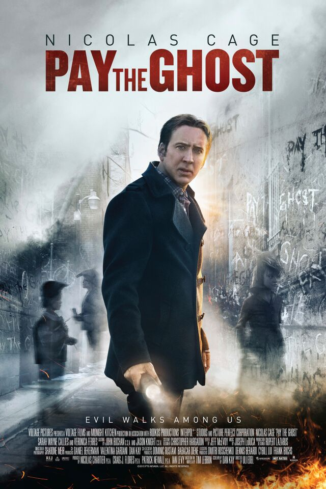 pay the ghost poster - Pay the Ghost (Movie Review)