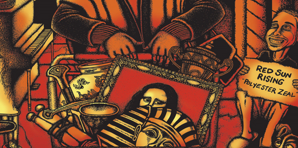 redsunrisingalbum1 - Red Sun Rising - Polyester Zeal (Album Review)