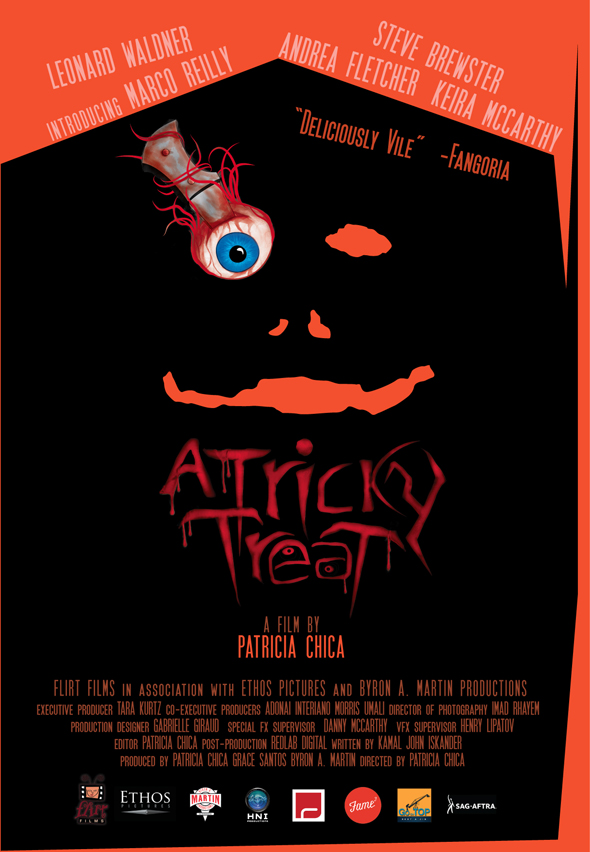 A TRICKY TREAT final poster WEB - A Tricky Treat (Movie Review)