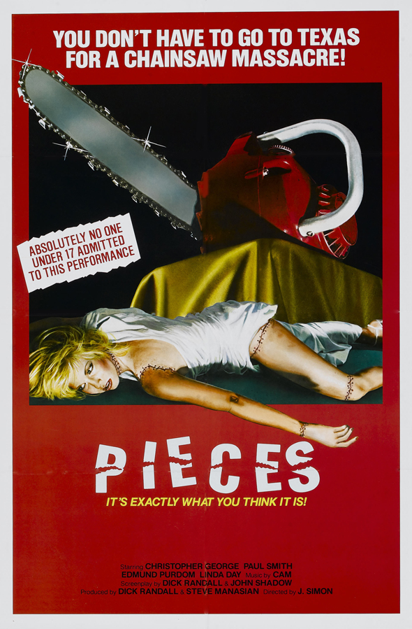 Pieces - This Week in Horror Movie History - Pieces (1982)