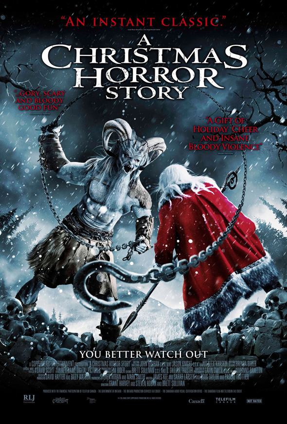 christmas horror story poster - A Christmas Horror Story (Movie Review)