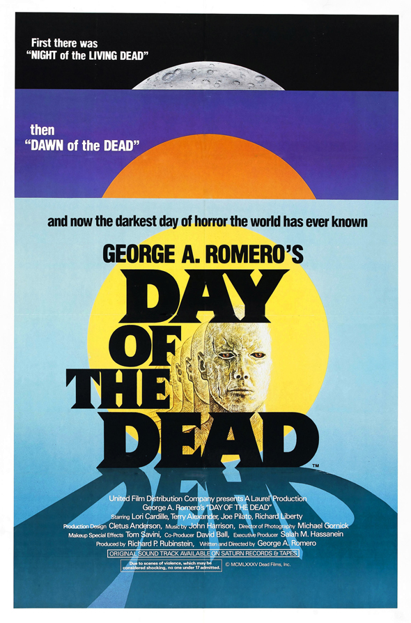 day of the deadedited poster - Day of the Dead - A Horror Classic 30 Years Later