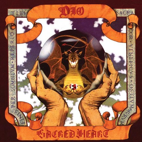 dio sacred heart album cover - Living with Dio's Sacred Heart for 30 Years