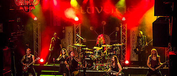 eluevietie slide for nyc 2 - Eluveitie & The Agonist Close Out Tour With Bang In NYC 10-3-15 w/ Martina Edoff