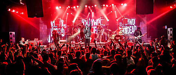 hollywood undead undead tour 17 of 28 - Hollywood Undead Capture Mayan Theatre Los Angeles, CA 9-15-15 w/ I Prevail & Crown the Empire