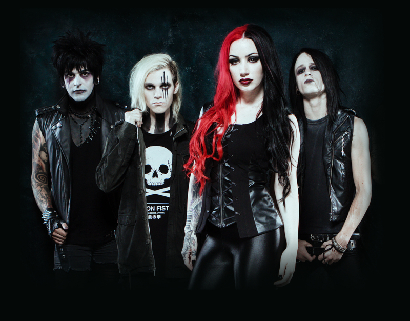 new years day promo - New Years Day - Malevolence (Album Review)