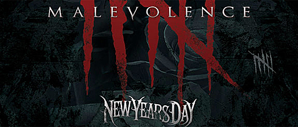 newyearsdaymalevolencecd2 - New Years Day - Malevolence (Album Review)