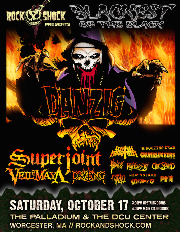 rock poster 1 - Rock and Shock Returns to New England Oct 16th-18th