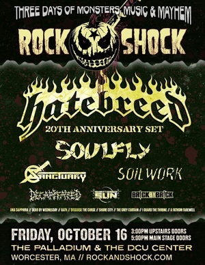 rock poster 2 - Rock and Shock Returns to New England Oct 16th-18th