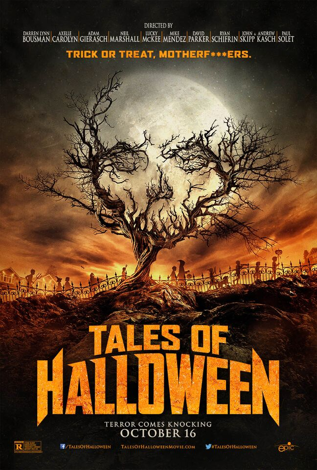 tales of halloween poster - Tales of Halloween (Movie Review)
