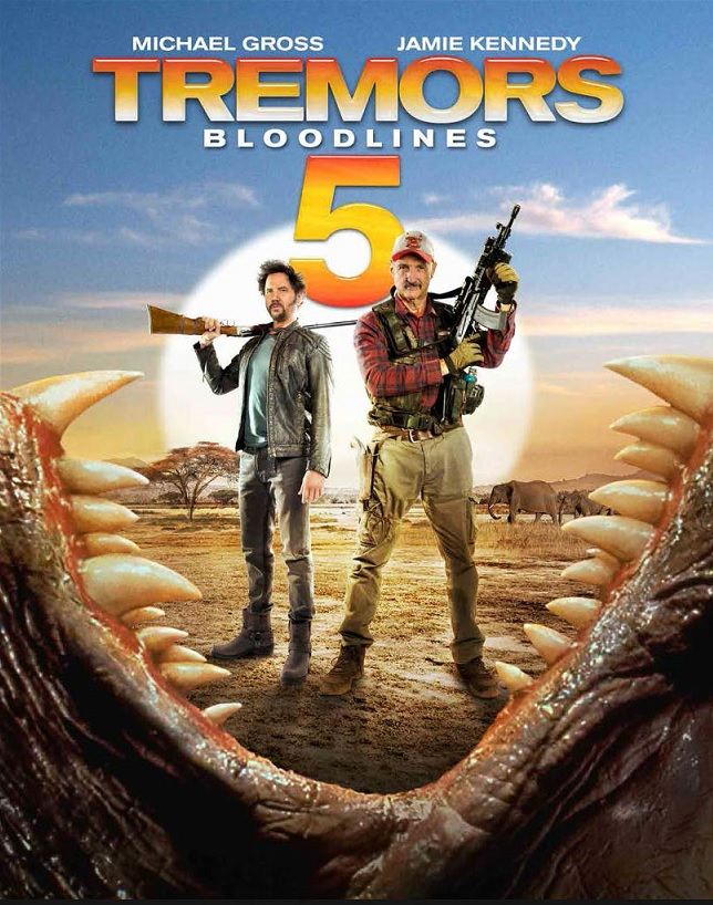 tremors 5 poster - Interview - Michael Gross