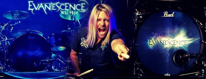 will hunt banner - Interview - Will Hunt of Evanescence