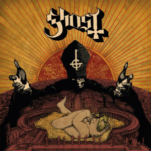Ghost   infestissumam cover - Interview - A Nameless Ghoul of Ghost