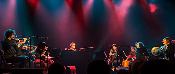ben folds slide - Ben Folds & yMusic Orchestrate a Whimsical Evening The Paramount Huntington, NY 11-1-15 w/ Dotan
