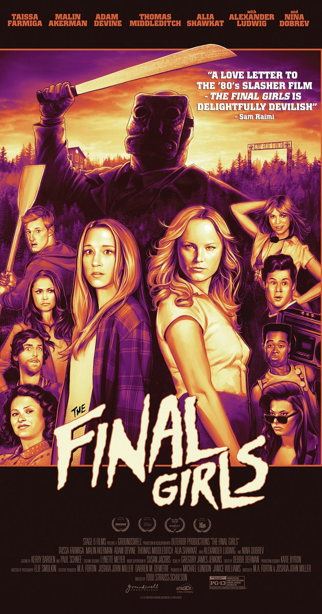 final girls poster - The Final Girls (Movie Review)