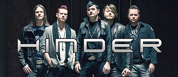 hinder slide - Interview - Cody Hanson of Hinder