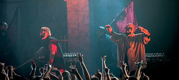 icp slide 2 - Insane Clown Posse Rattle Palladium Worcester, MA 11-13-15 w/ P.O.D., DJ Paul, & Young Wicked